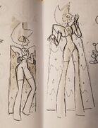 Diamante Amarillo (primeros diseños con capa)