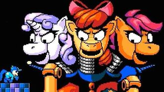 Mega Pony (My Little Pony fan game) All Bosses (No Damage)