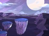 Islas flotantes del campo de batalla gema