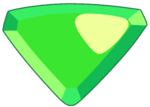 Peridot Gemstone by RylerGamerDBS