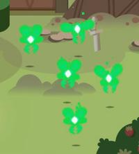Avispas de luz verde