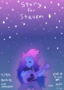 Promo art story for steven