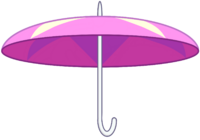 Paraguas de Rainbow Quartz