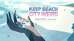 KeepBeachCityWeird Card Tittle