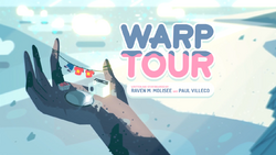 Warp Tour Card TittleHD