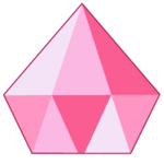 Pink Diamond Gemstone by RylerGamerDBS
