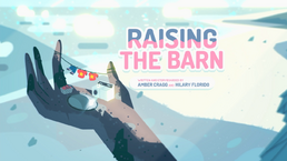 Raising the Barn Tittle Card HD