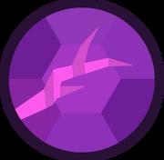 Amethyst's Gem Crack Latest Design