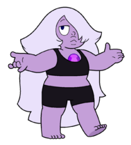 Amethyst bra and shorts