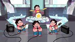 Steven Universe - Yo y los Stevens Castellano HD Letra