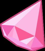 Pink Diamond Gem 3d