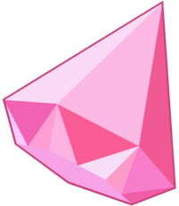 Pink Diamond Gem 3d