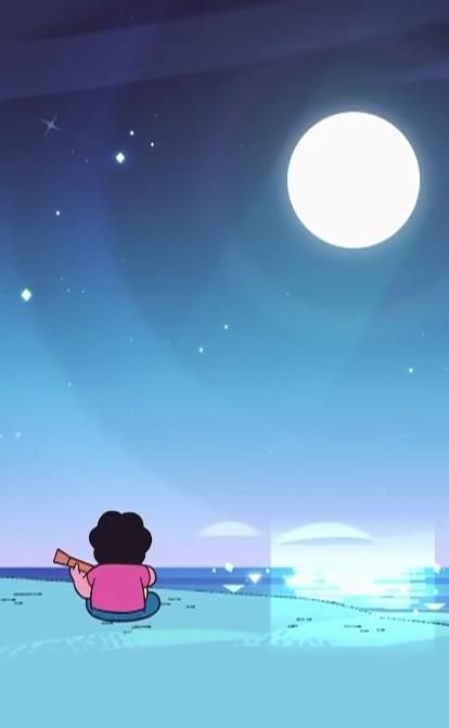 At moonlight