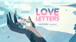Love Letters Card Tittle