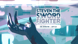 StevenTheSwordFighter Card Tittle