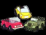 Pequeños autos