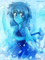 Doodle steven universe lapis lazuli by nadi chan-d8ohfqi