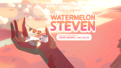 Watermelon Steven Card Tittle HD