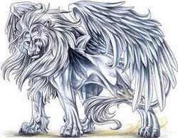 Winged Lion!