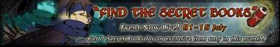 Find the Secret Books Event