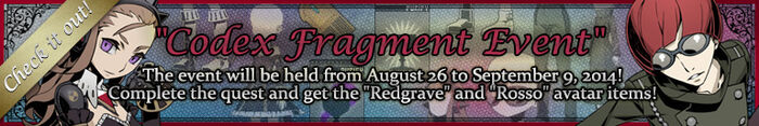 Codex Fragment Event