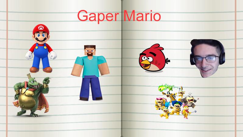 Gaper Mario