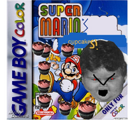 Super Mario's Cupcakes box art