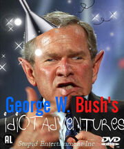 George w bush idiot show