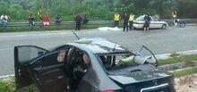 UNMC Jalan Broga Car Accident 2014