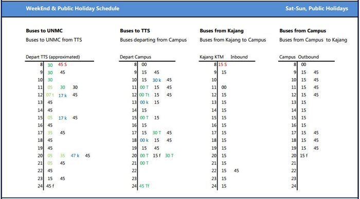 Unmc shuttle bus weekend and holidays schedule aut 2014