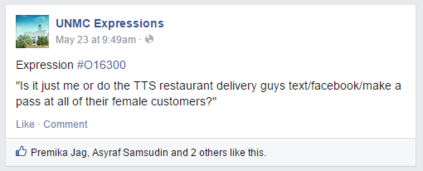 TTS restaurant delivery guys