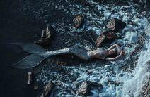 Washed-Up Mermaid