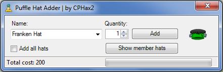 Puffle Hat Adder (CPHax2) interface new