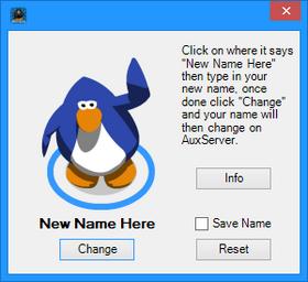Name interface