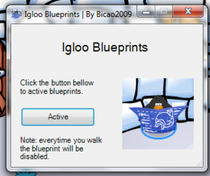Igloo blueprints interface