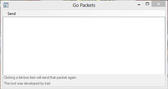 Go Packets Interface