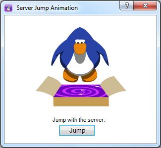 Server Jump Animation interface