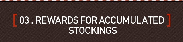 Accumulated stockings banner