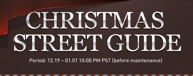 Christmas Street Banner