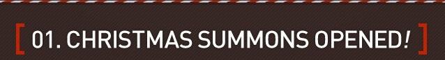 Christmas Summon banner