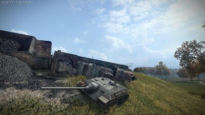 World of tanks E25