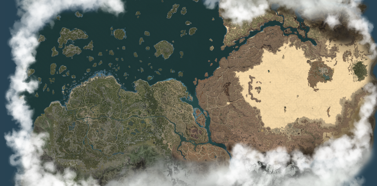 Image   World Map.png | Unofficial Black Desert Online Wiki
