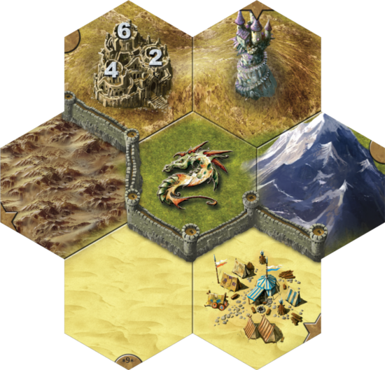 Image result for mage knight board game tile