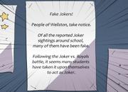 Fake Joker Warning