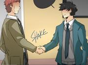UnOrdinary Keon and John Handshake