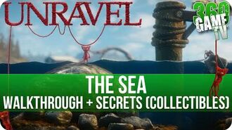 Unravel - Chapter 2 (The Sea) Walkthrough incl all Secrets (Collectible Locations)