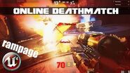 Unreal Tournament 4 - Online Deathmatch in OUTPOST 23