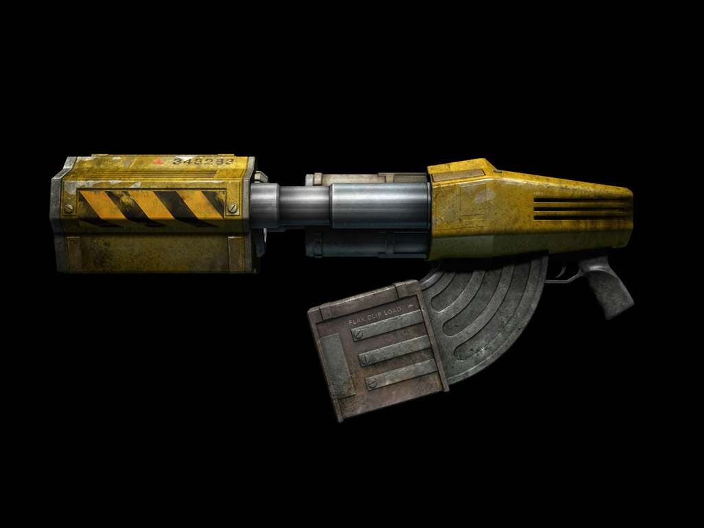 Image result for unreal tournament flak cannon