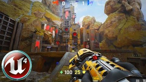 Video - Unreal Tournament 4 - Capture the Flag in Titan Pass
