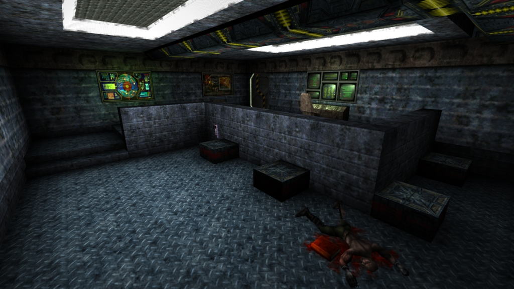Inside UMS Prometheus/Walkthrough | Unreal Wiki | FANDOM